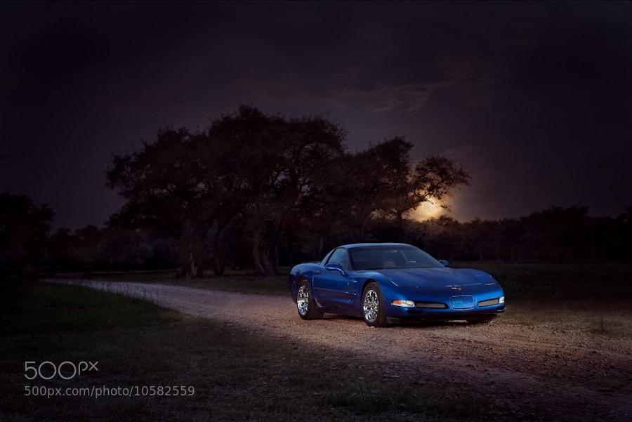 Photograph Blue Moon by Karissa Hosek on 500px