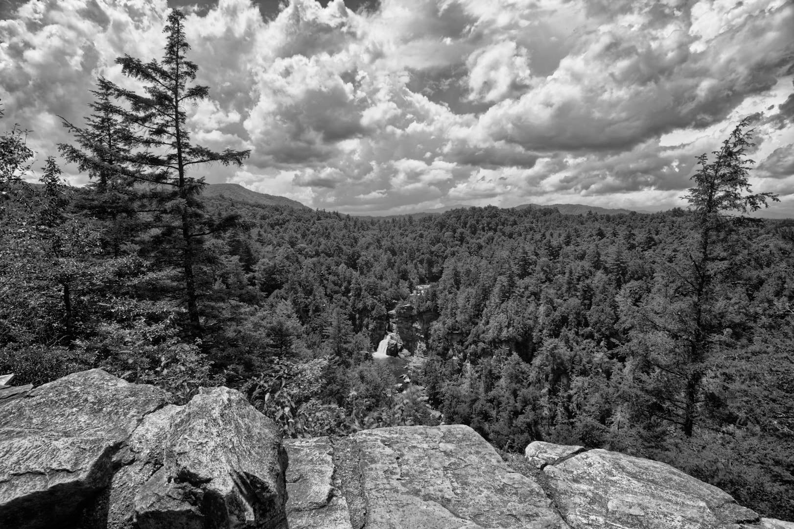 Photograph Linville Falls, upper view by Daniel Lowe on 500px