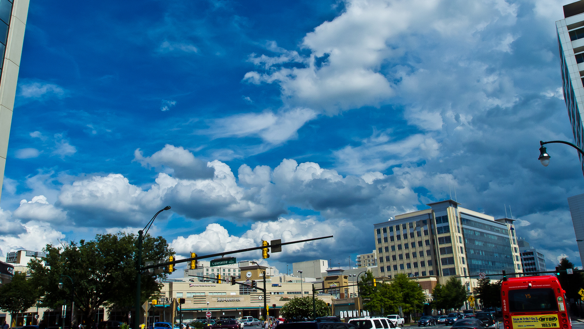 Photograph Downtown Silver Spring Maryland by Dan  Lawrence on 500px