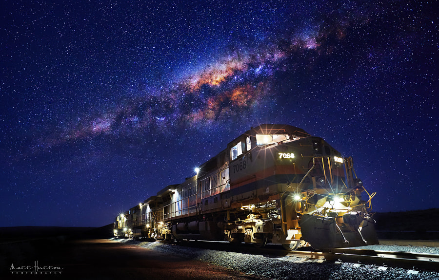 Pilbara Express by Matt Hutton on 500px.com