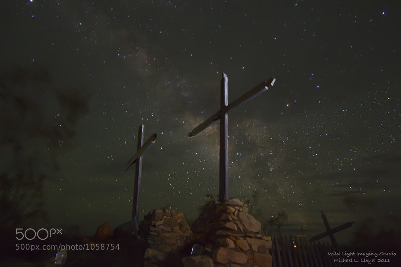 Photograph Terlingua Cemetery by Michael Lloyd on 500px