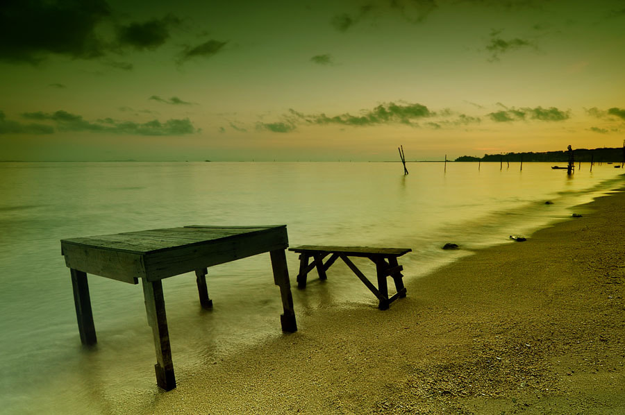 Photograph waiting for someone to sit by Assoka Andrya on 500px