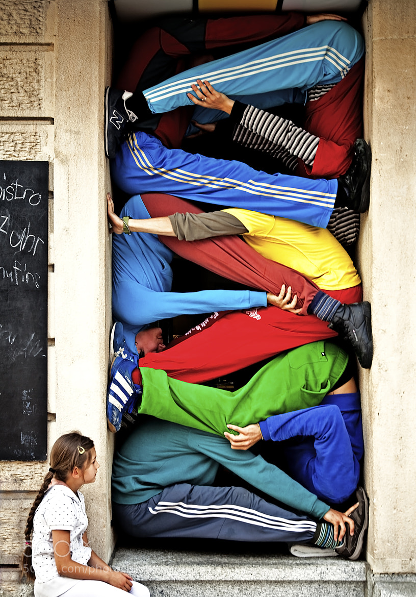 Photograph Bodies in urban spaces by kostas maros on 500px