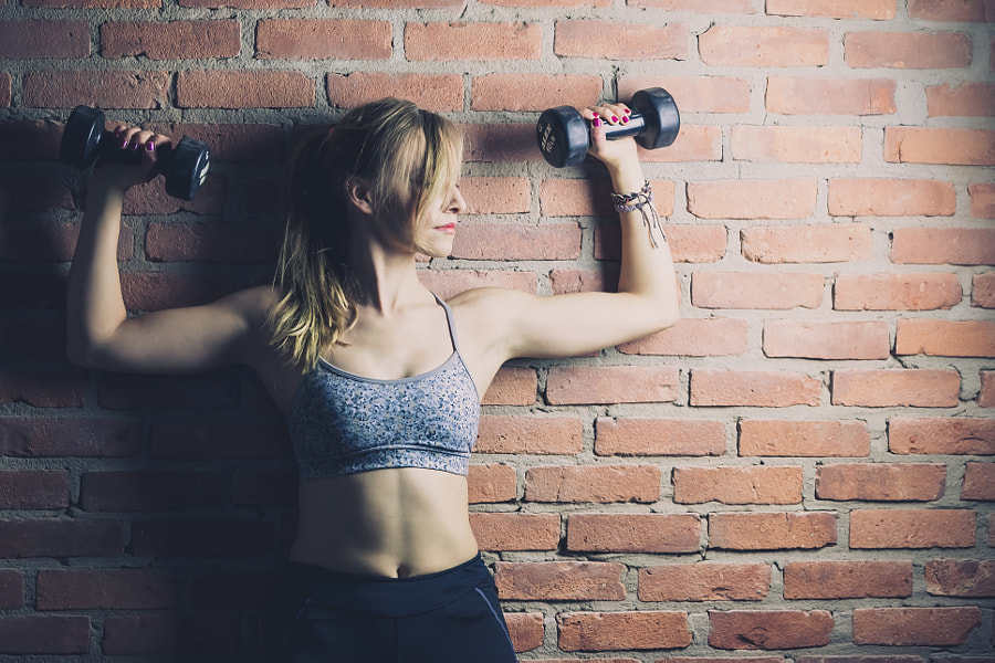 Photograph Gym Day - Maria by Tommy Lo on 500px