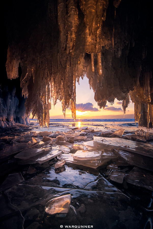 Photograph The Ice Cave of Baikal by Byron Prukston on 500px