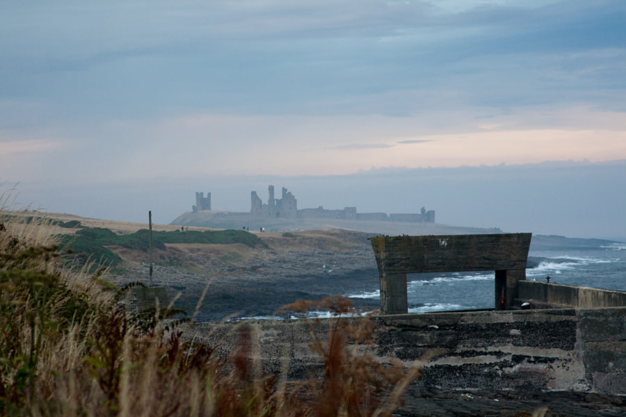 Photograph Dunstanburgh Castle as seen from Craster. by Richard Keeling on 500px