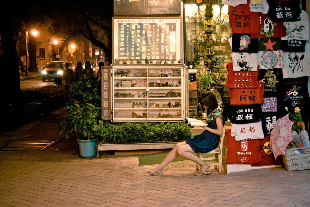 Photograph Girl with a Book by Stas Kulesh on 500px