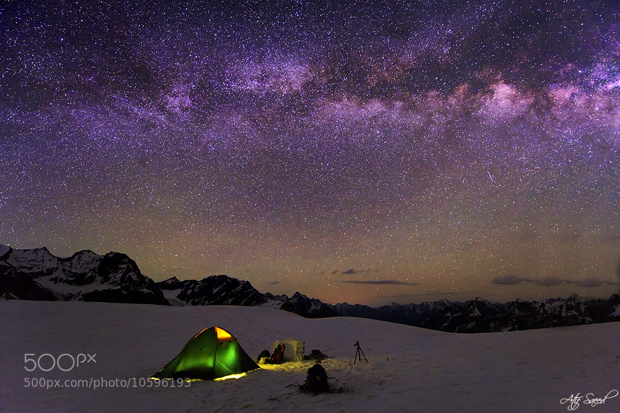 My Camp at 4964m.. by Atif Saeed (matif)) on 500px.com
