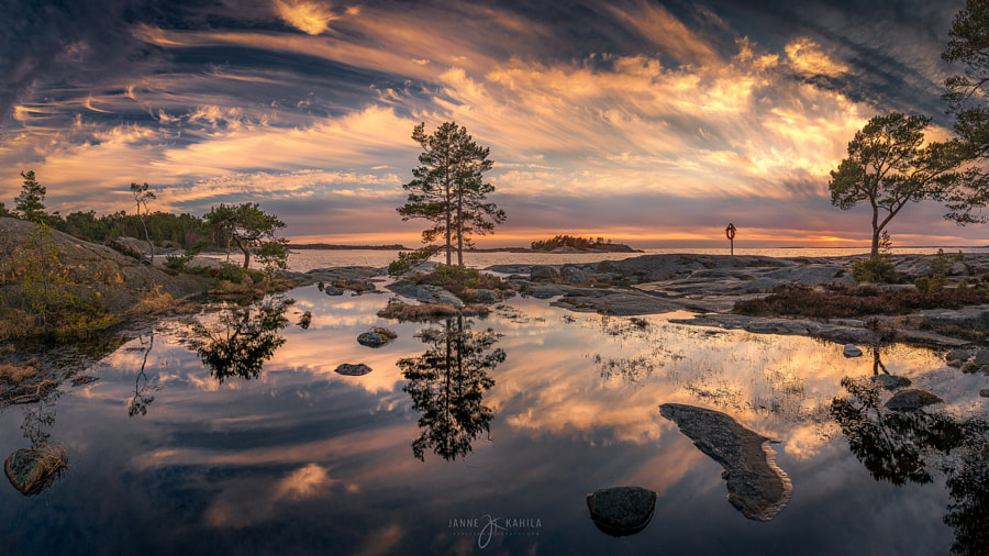 Photograph Tranquilly Divided by Janne Kahila on 500px