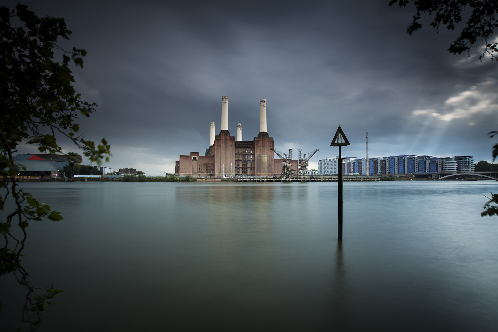 Photograph Passing storm Battersea power station by Terry Gibbins on 500px