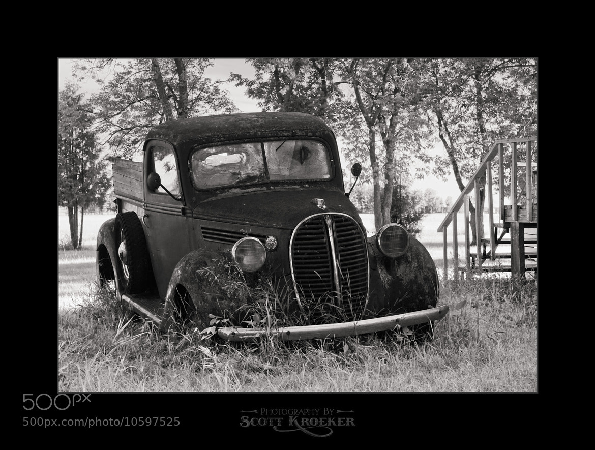 Photograph Classic Ford by Scott Kroeker on 500px