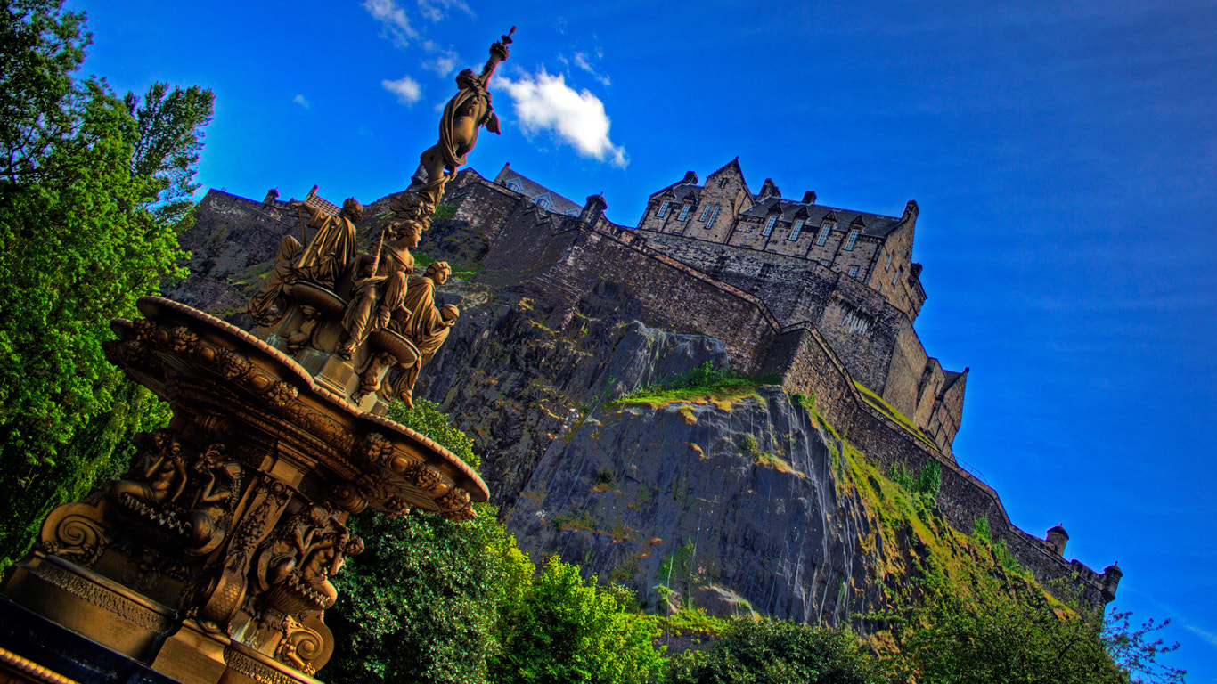Photograph Blue skies over Edinburgh by Craig Brown on 500px