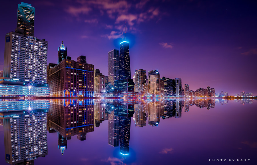Photograph Chicago Midnight Dream by Bart  on 500px