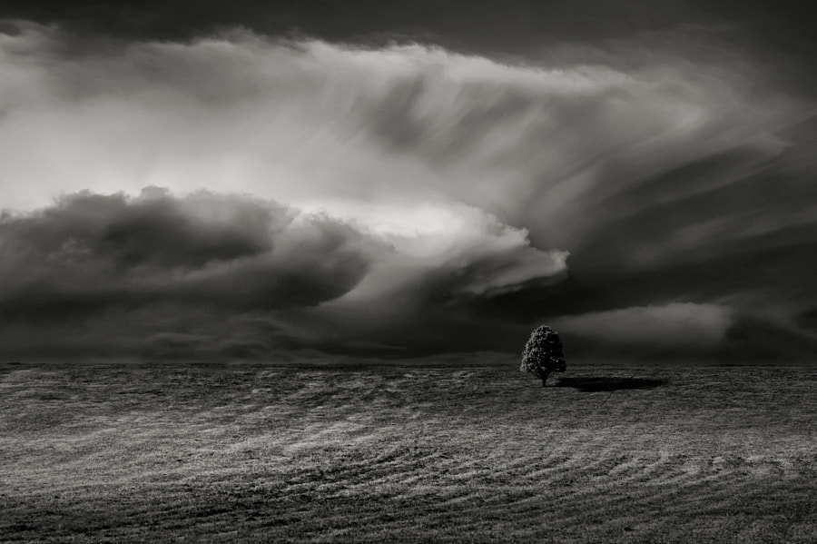 Photograph Ominous Clouds by Carlos Gotay on 500px