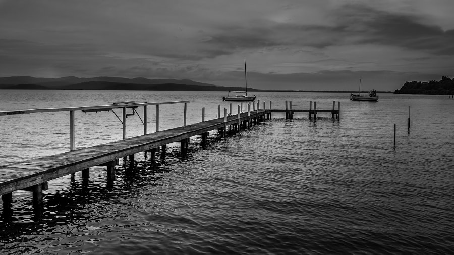 Photograph Mallacotta Lake, Victoria Australia by Travis Chau on 500px