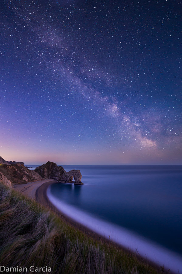 Photograph Milky Way over Durdle Door 2 by Damian Garcia on 500px