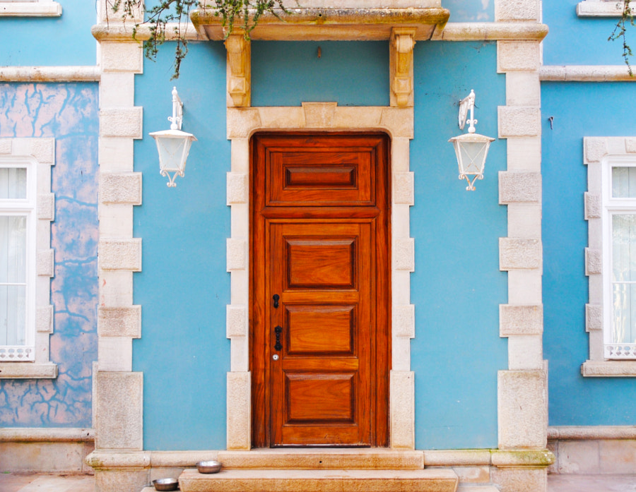 Photograph This Door Is Protected By Two Thirsty Dogs by Pedro José on 500px