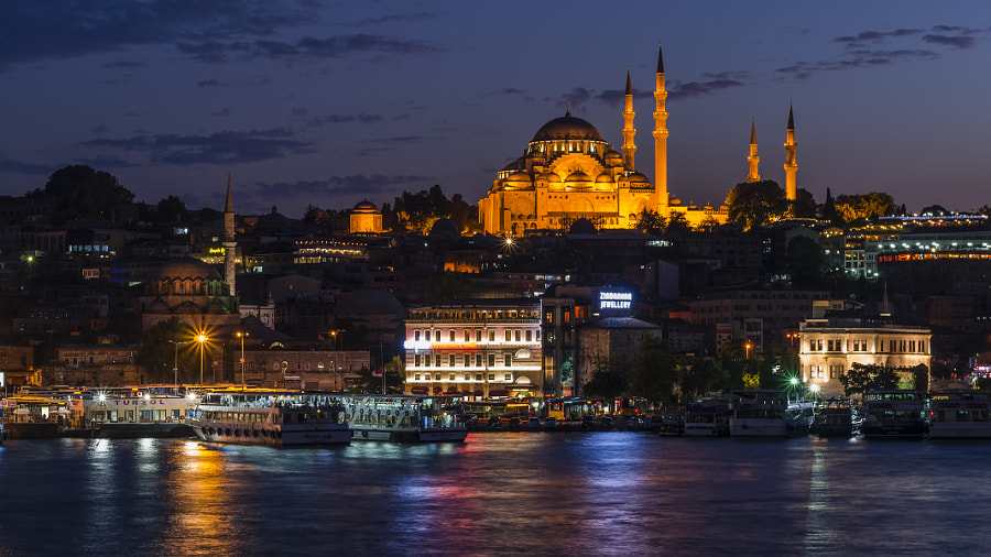 Süleymaniye Mosque by O?uzhan ?ahino?lu on 500px.com