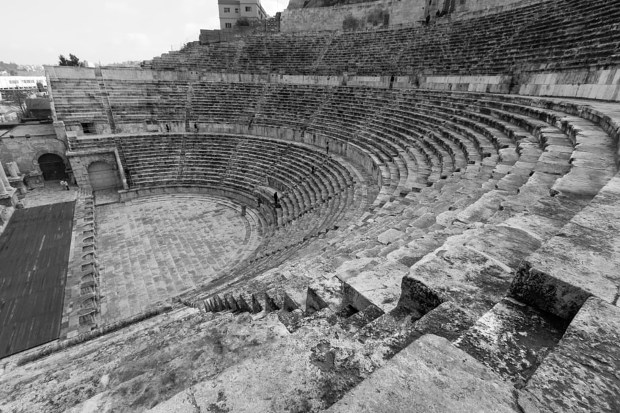 Photograph amman roman theater by Balint Kasza on 500px