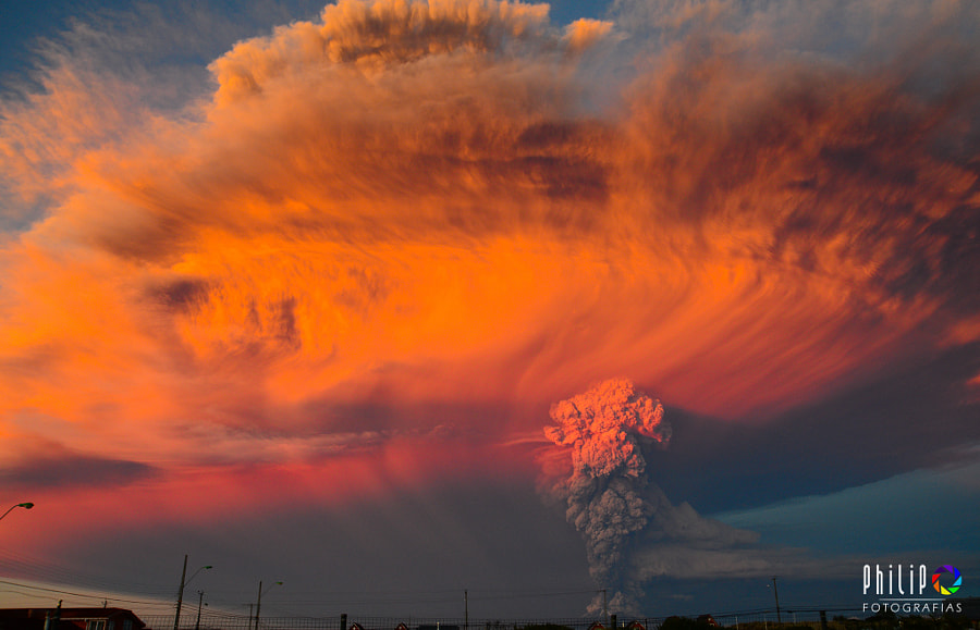 Photograph Volcan Calbuco by Philip Oyarzo on 500px