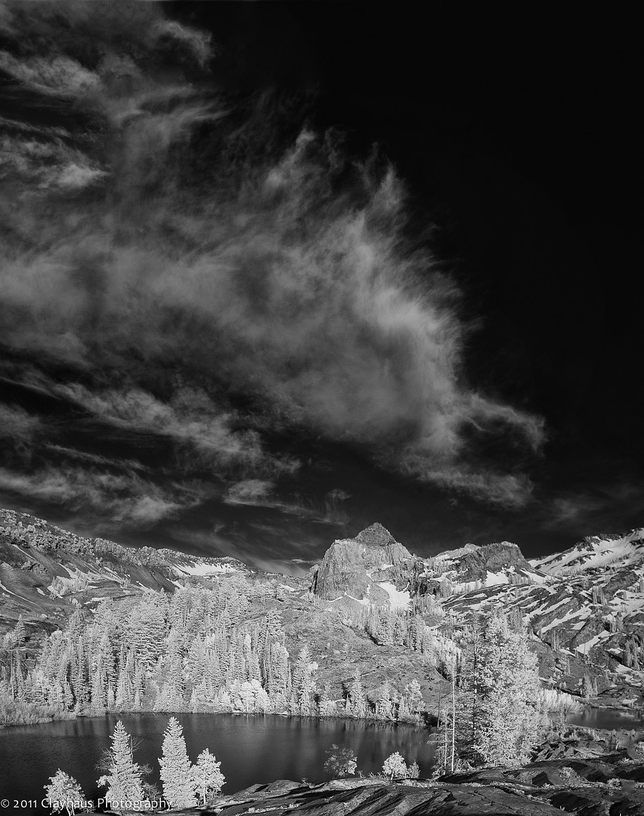 Photograph Infrared Vertical Pano of Lakes Florence and Lillian by Jeff Clay on 500px