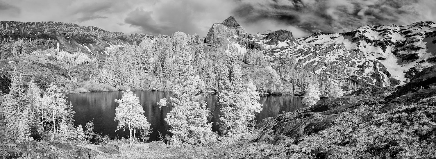 Photograph Infrared Pano of Lake Florence and Sundial by Jeff Clay on 500px