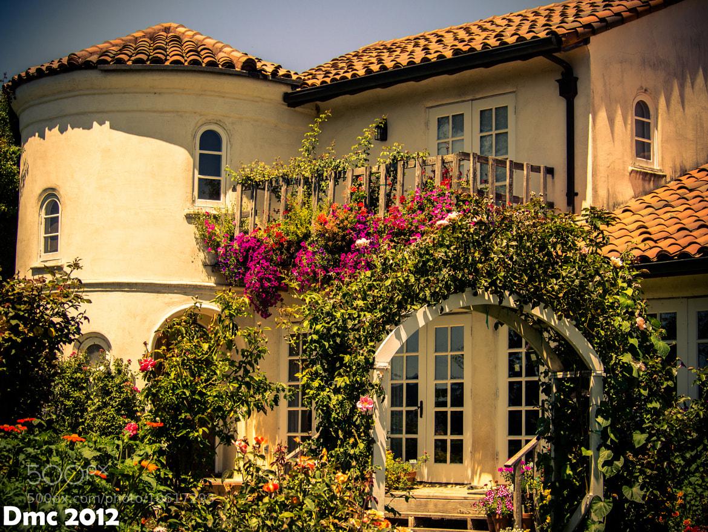 Photograph Garden Cottage by Dan Cassat on 500px