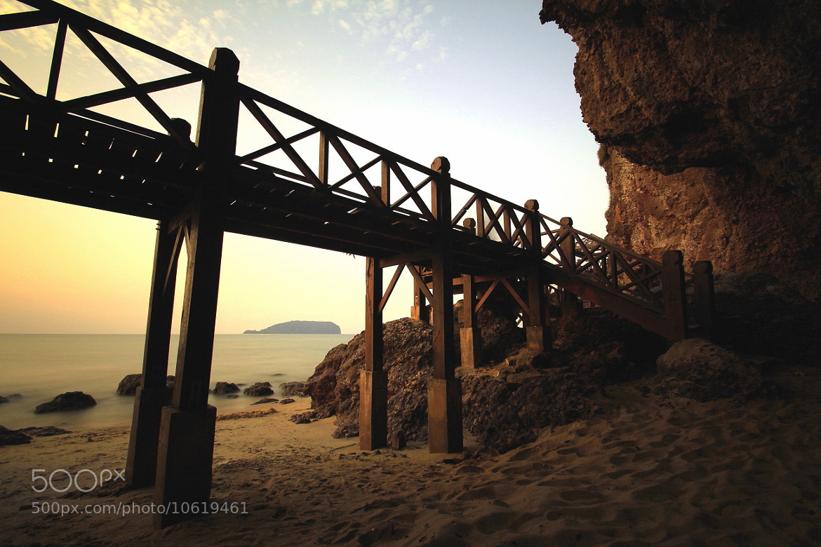 Photograph stairway to sunset by daun cenkeh on 500px