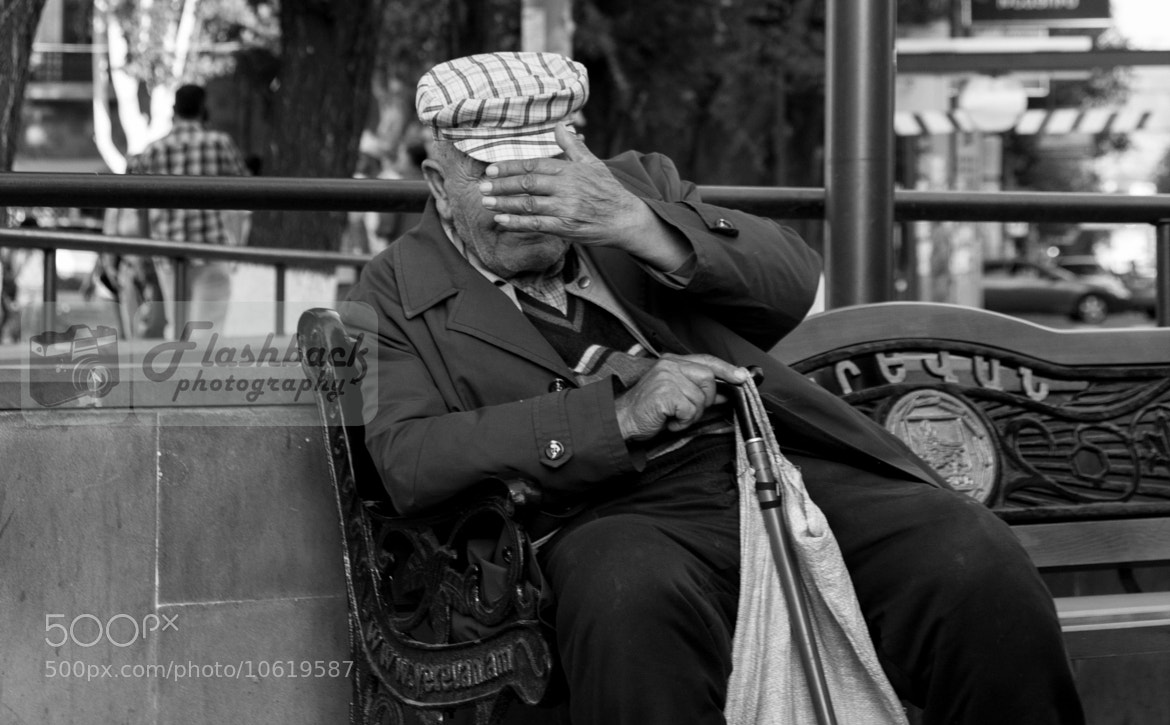 Photograph A man that had something to hide  by Flashback Photography on 500px