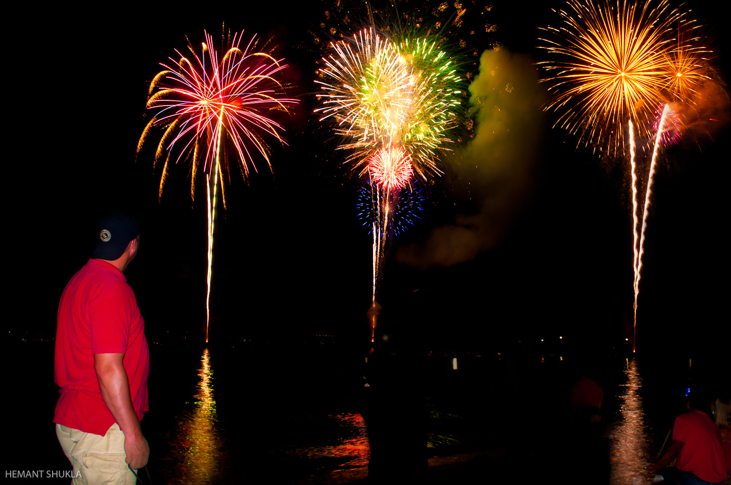 Photograph Fireworks At Fairhope Alabama by Hemant Shukla on 500px