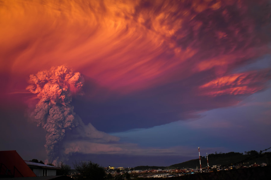 Photograph Erupción volcán Calbuco by Franck Torres on 500px
