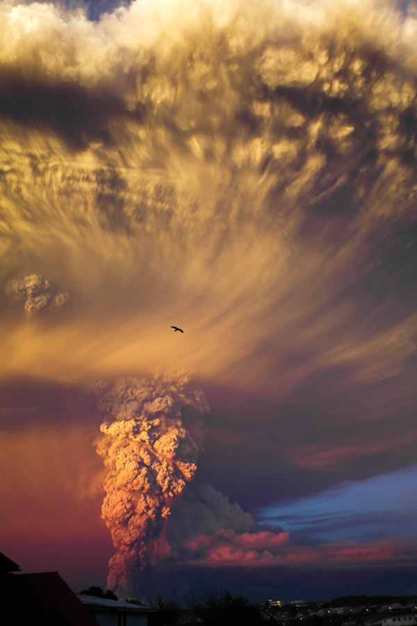 Photograph Volcán Calbuco by Franck Torres on 500px