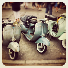 vespa joyride ⎮ ammersee by Christoph Gießing (ChristophGiessing)) on 500px.com