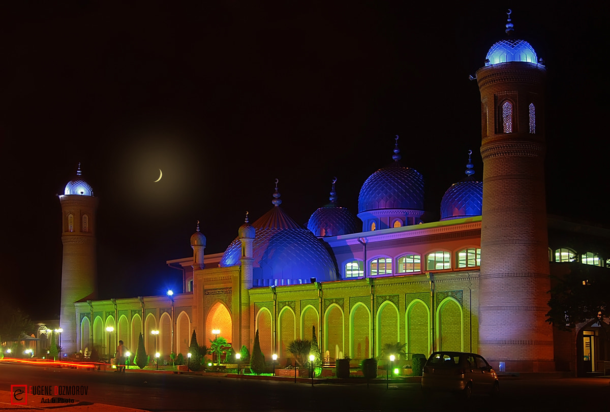 Photograph Mosque at night by Eugene D on 500px