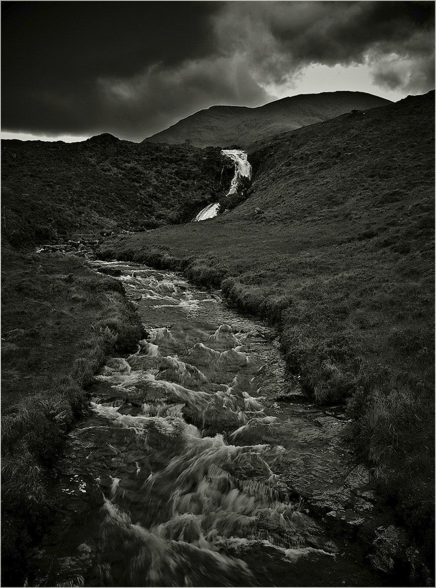 Photograph Swollen stream and waterfall by John Barker on 500px
