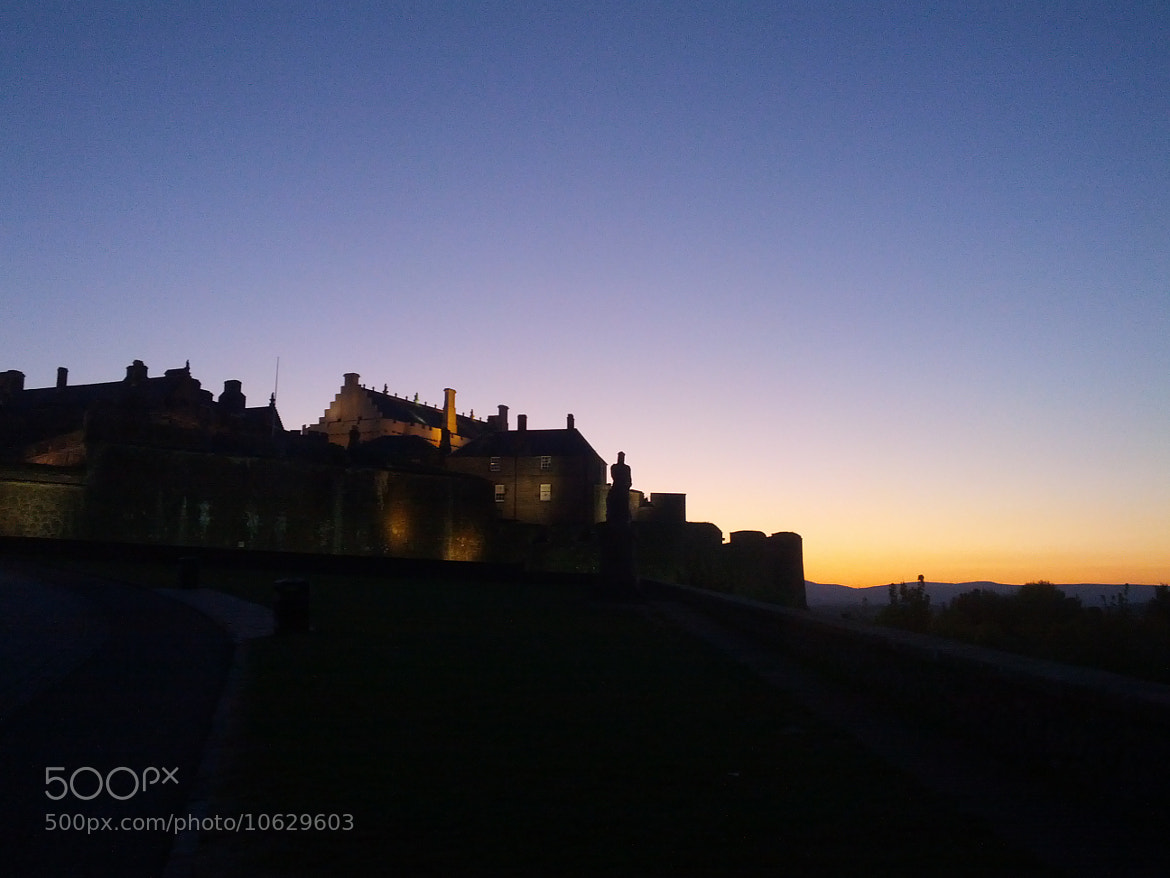 Photograph Stirling Castle at Dusk by Neil Alexander on 500px