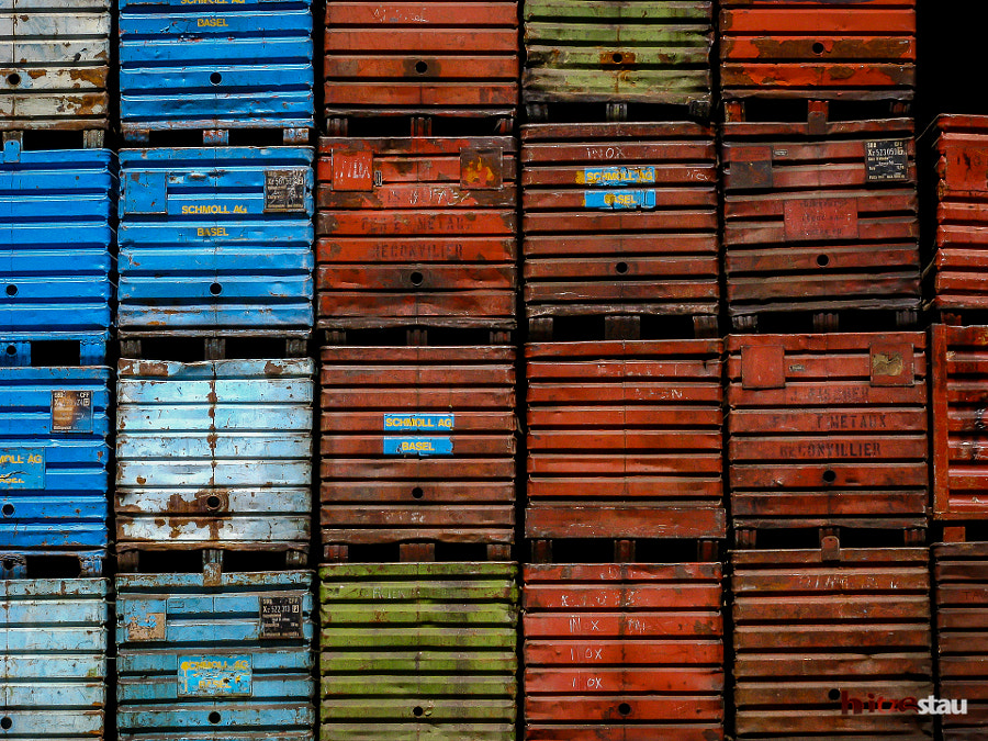Photograph Metal Boxes by hitzestau on 500px