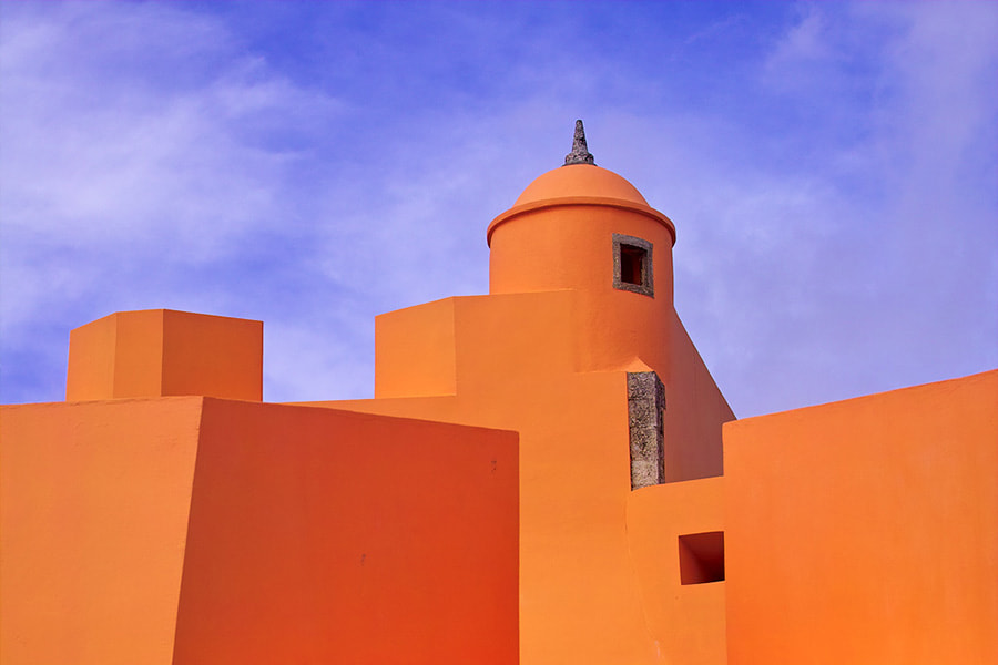 Photograph The Orange Fortress by Paulo Ferreira on 500px