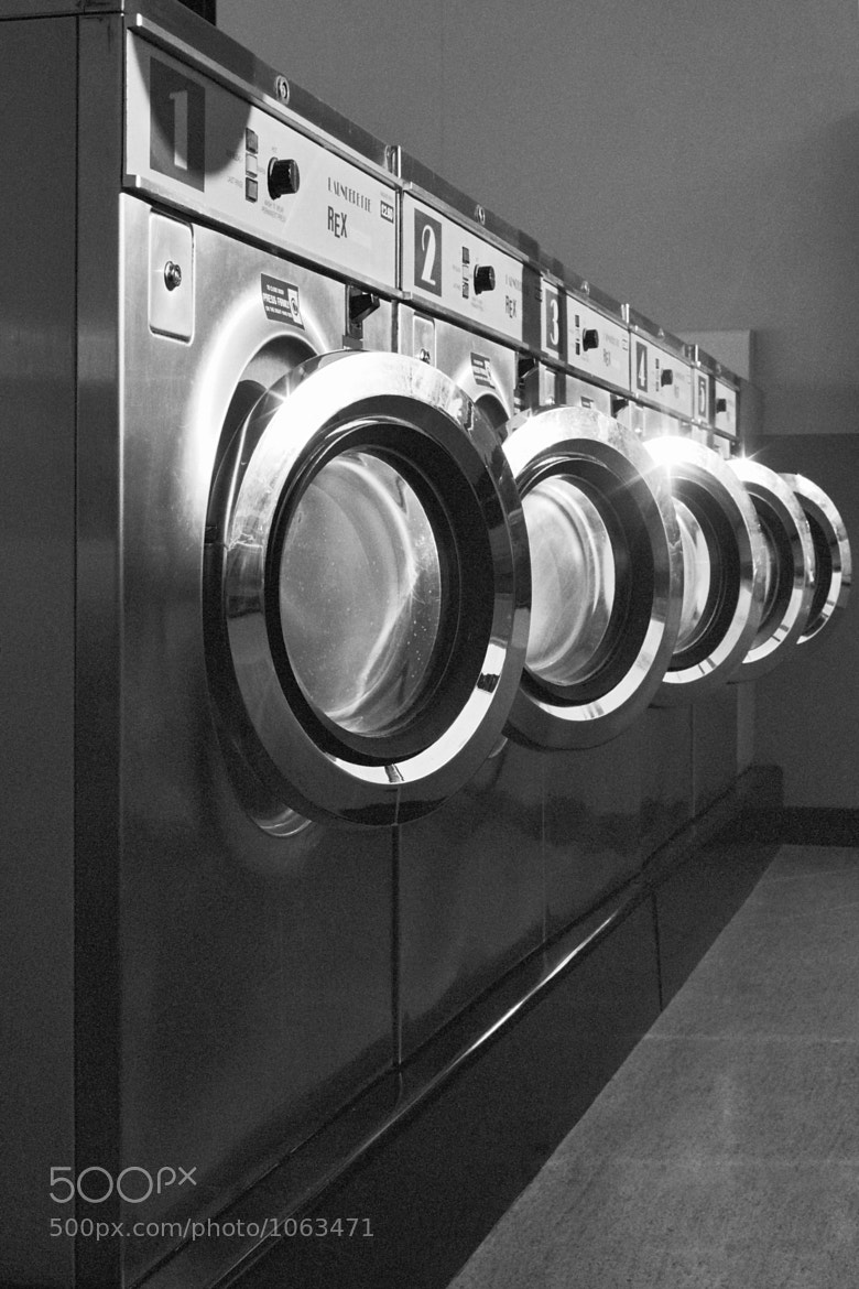 Photograph Laundromat by Adam Streames on 500px