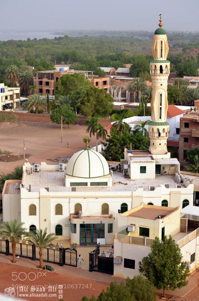 Photograph Dawha mosque, Khartoum by Ali Saad Ali on 500px