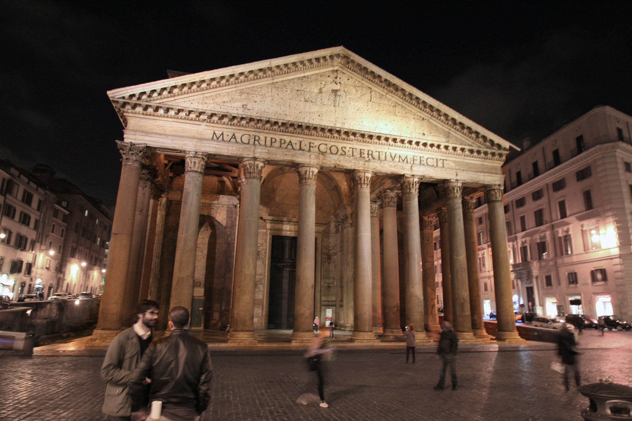 Photograph pantheon by Parker Mitchell on 500px