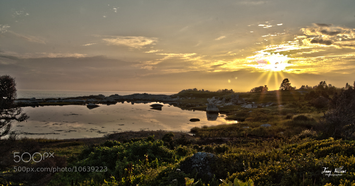 Photograph Peggy's Cove Sunset 1 by Tammy Williams on 500px