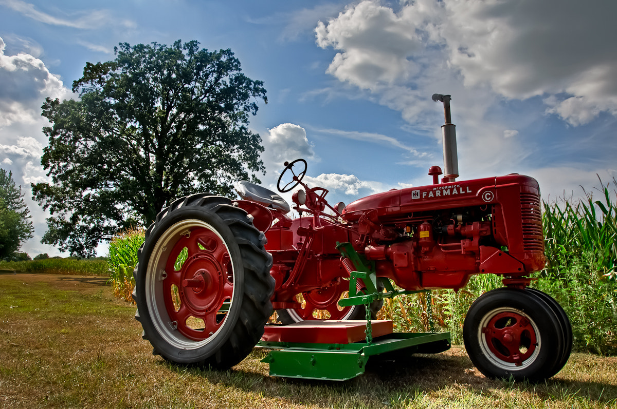 Photograph Woody's Tractor by Tracy Wilson on 500px