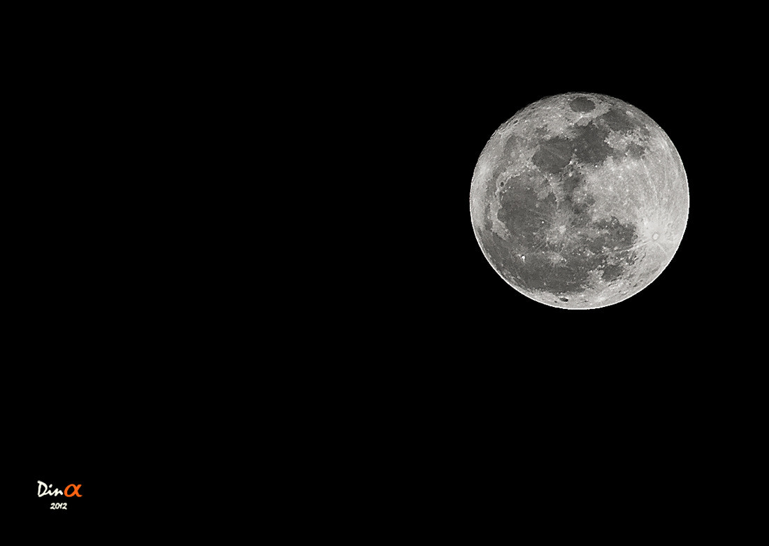 Photograph Moon by Dina Mohammed on 500px