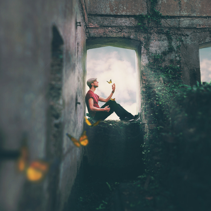Photograph A Seat Between Worlds by Joel Robison on 500px