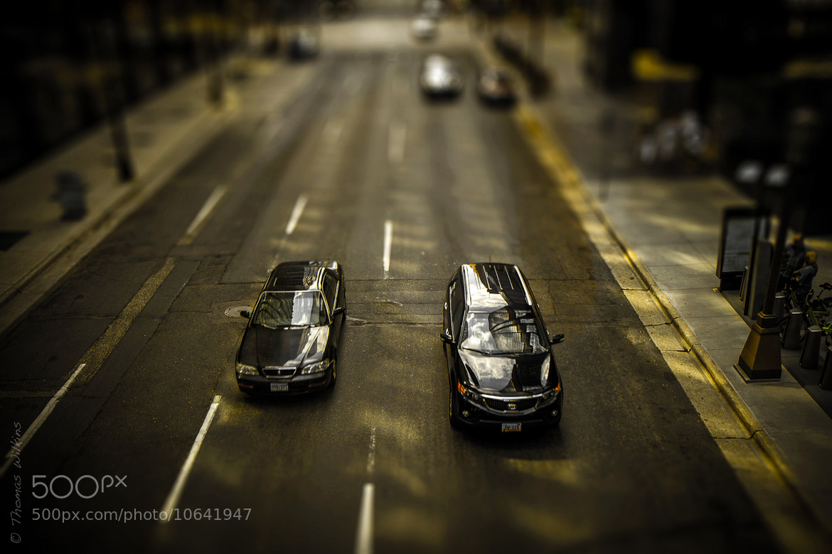 Photograph Matchbox Cars on Marquette Ave by Tom Wilkins on 500px