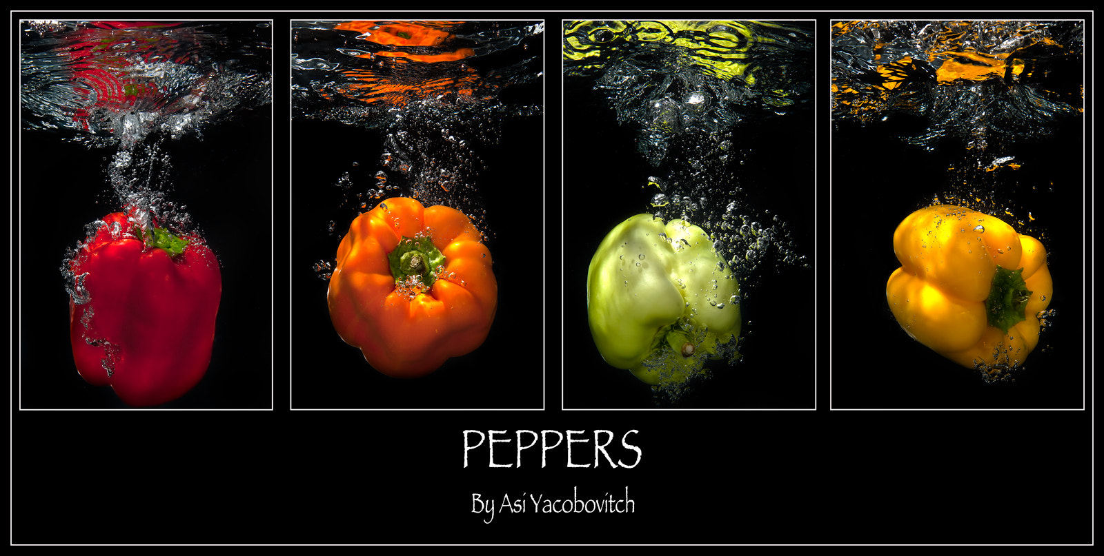 Photograph Peppers II by Asi Yacobovitch on 500px