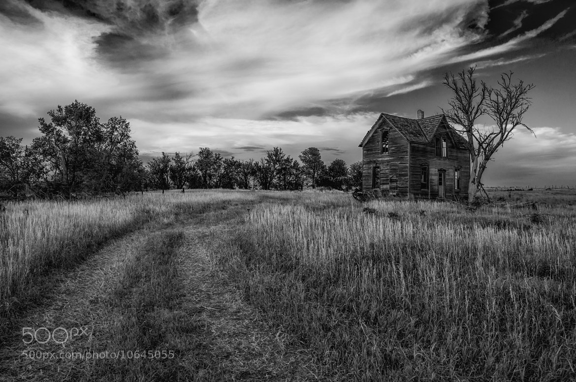 Photograph Home Sweet Home B+W by J. Rockwell on 500px