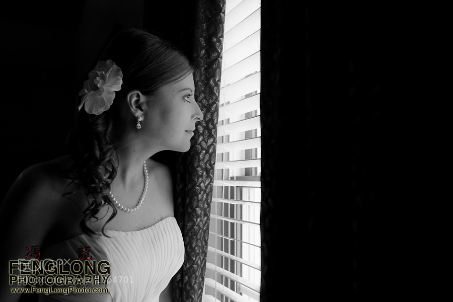 Photograph Bride Peers Out by Zachary Long on 500px
