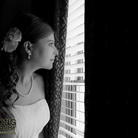 Bride Peers Out by Zachary Long (ZacharyLong)) on 500px.com